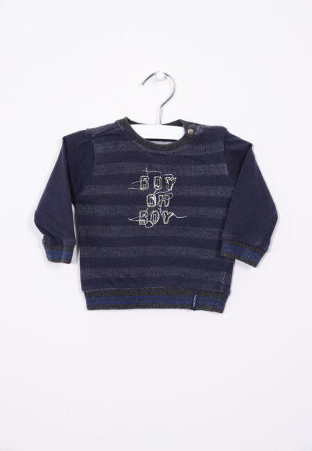 Donkergrijze sweater, Noppies, 62