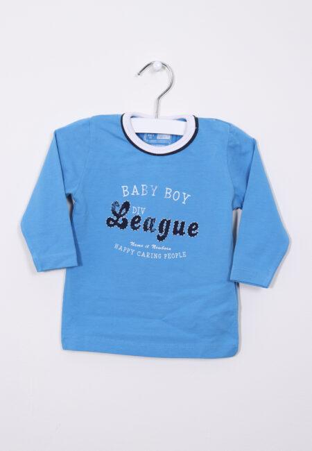 Blauwe longsleeve, Name it , 68
