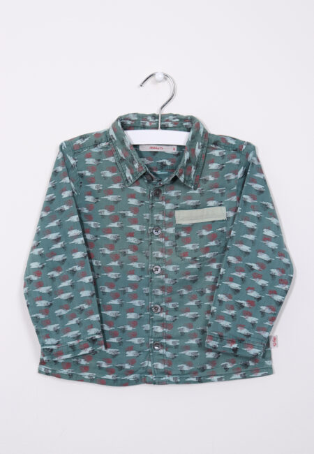Groen hemdje, Hilde & Co, 86