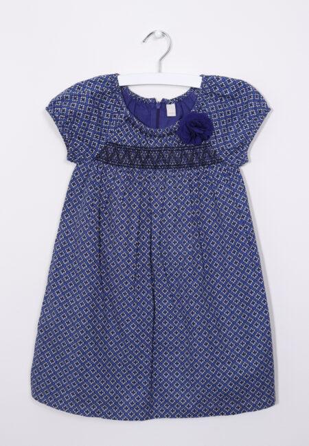 Blauw-ecru kleedje, Esprit, 104