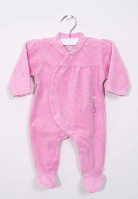 Roze fluwelen pyjama, Noukies, 56