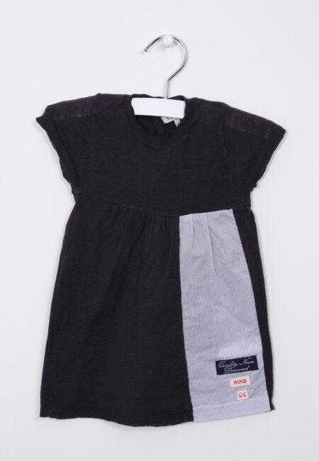 Donkergrijs kleedje IKKS, 62