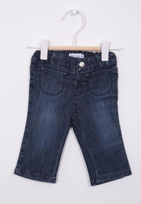 Blauw jeansbroekje, P'tit Filou, 62