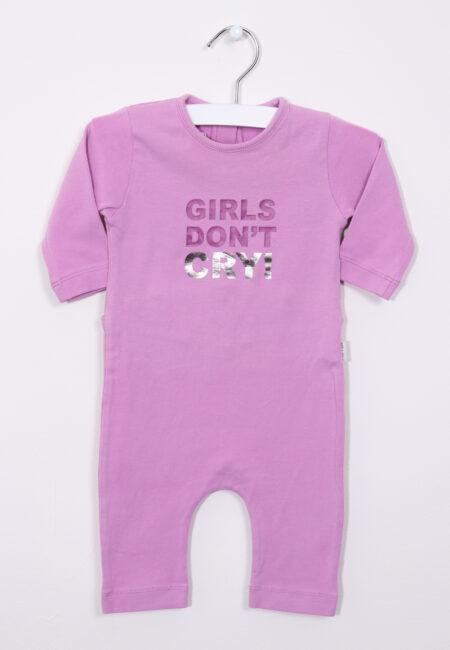 Roze-paars onesie pyjama, P'tit Filou, 62