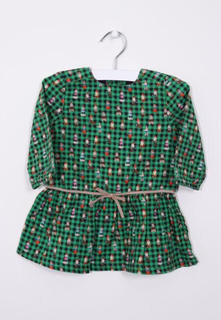 Groen kleedje, P'tit Filou, 74