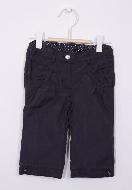 Donkerblauw broekje, S.Oliver, 74