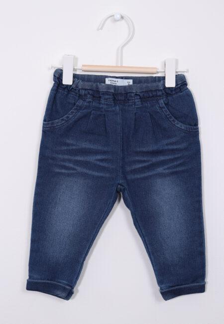 Blauw jeansbroekje, Name it, 74