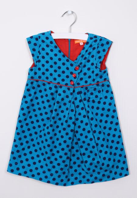 Felblauw kleedje, Fred & Ginger, 92