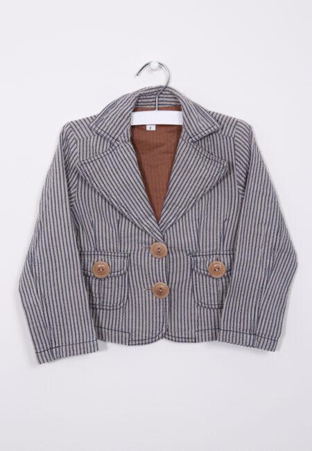 Lichtbruin-blauw blazertje, Zorra, 92