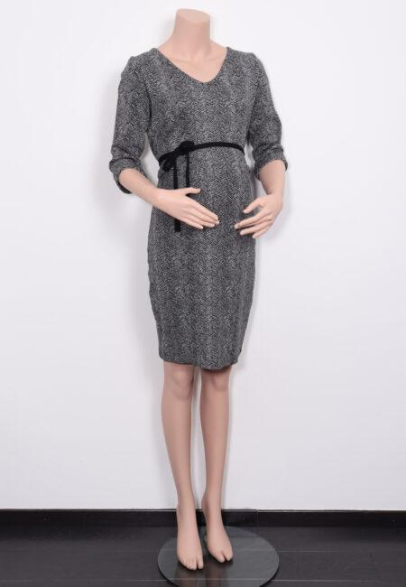Zwart-wit kleedje, Fragile, M