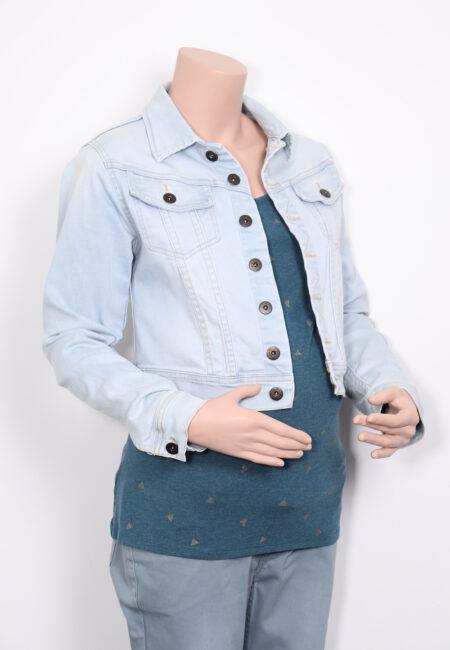 Lichtblauw jeansjasje, Love2Wait, M