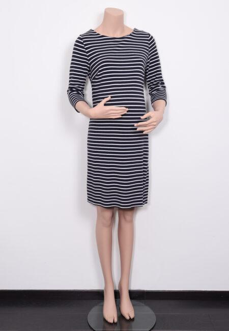 Donkerblauw-wit kleedje, Noppies, M
