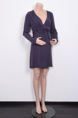 Zwart-paars kleedje, Noppies, XL