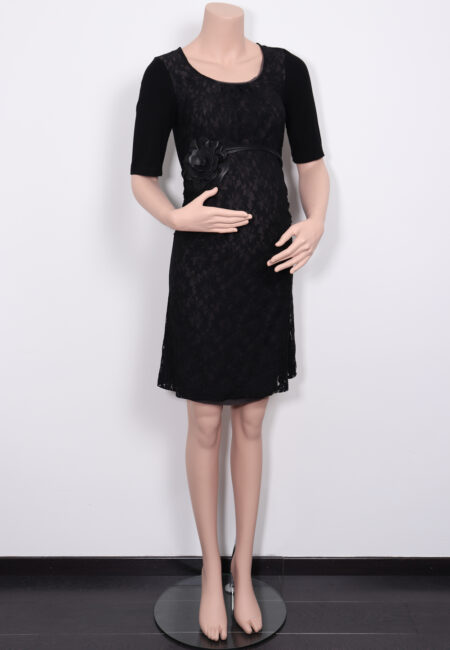 Zwart feestkleedje, Noppies, XS