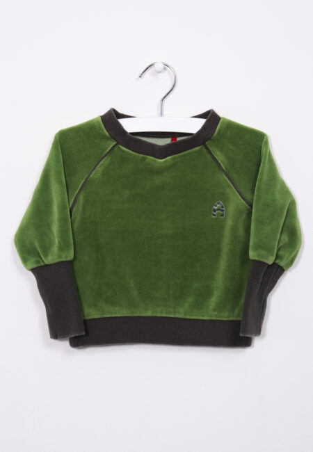 Groene sweater, Albababy, 80