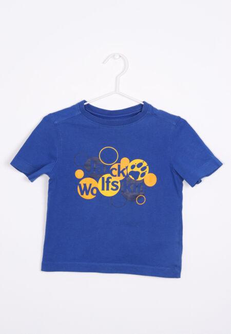 Blauwe t-shirt, Jack Wolfskin, 104