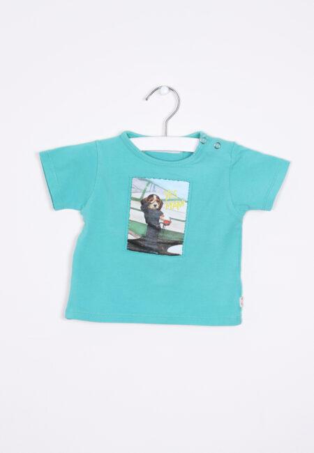 Groen t-shirtje, Fred & Ginger, 68