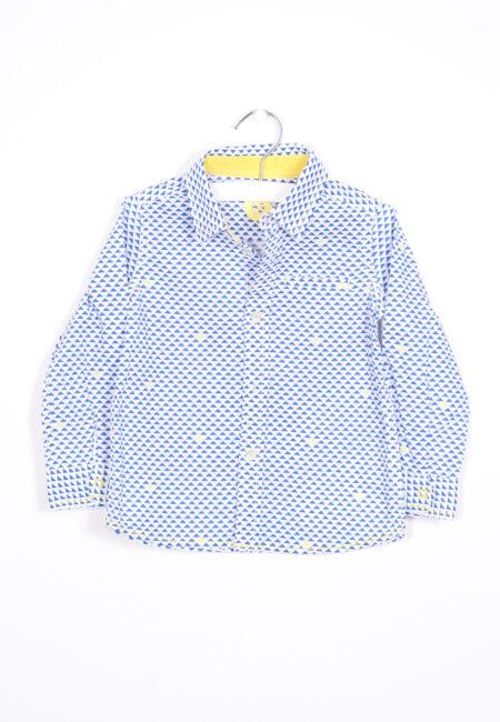 Wit-blauw hemdje, JBC, 86