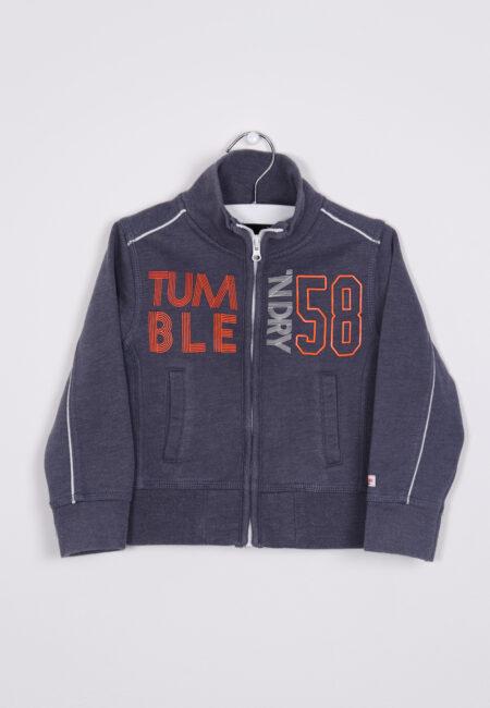 Blauwe gilet, Tumble 'n Dry, 92
