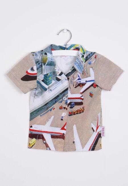 Beige gekleurd hemdje, Ba*Ba, 92
