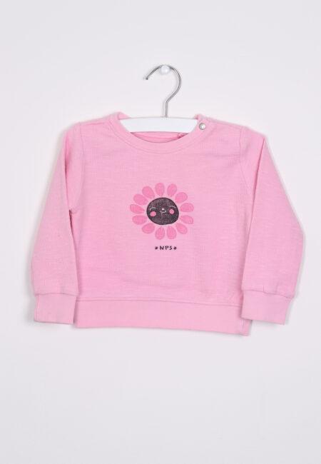 Roze sweater, Noppies, 74
