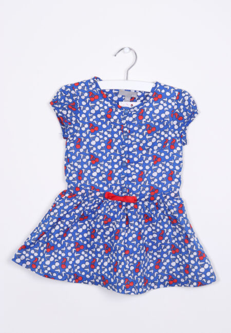 Blauw kleedje, JBC, 86