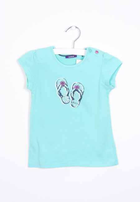 Turquoise t-shirt, Mexx, 86