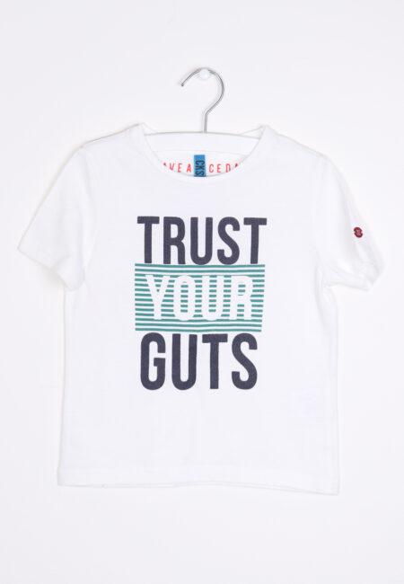 Witte t-shirt, CKS, 104