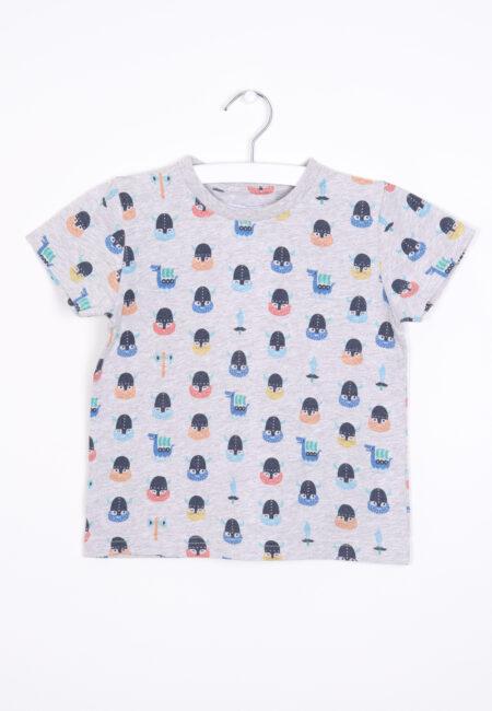 Grijs t-shirtje, Filou & Friends, 104