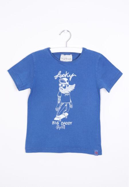 Blauwe t-shirt, My Myths, 104