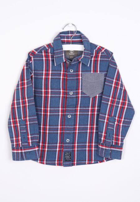 Blauw-rood hemd, Timberland, 104