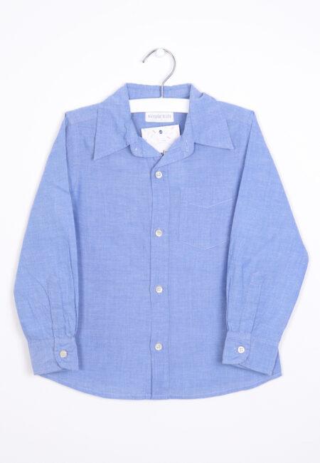 Lichtblauw hemdje, Simple Kids, 104