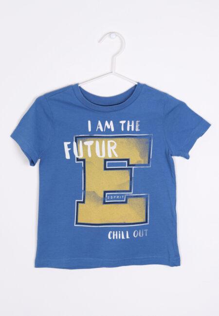 Blauwe t-shirt, Esprit, 104