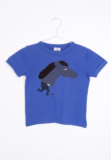 Blauwe t-shirt, Hilde & Co