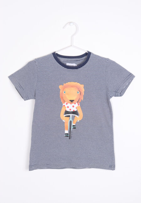 Blauw t-shirt, Filou & Friends, 116