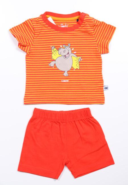 Rood-oranje pyjama, Woody, 62