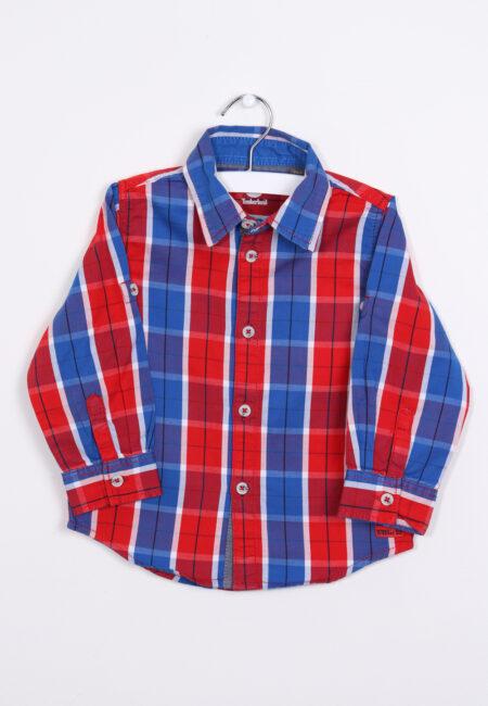 Blauw-rood hemd, Timberland, 86