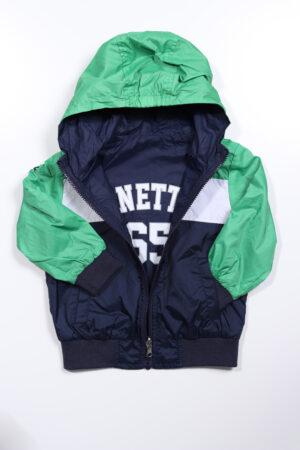 Blauw-groen jasje, Benetton, 92