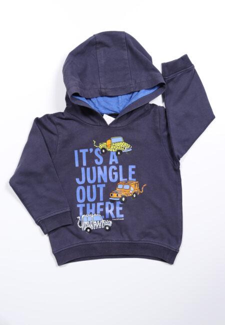 Blauwe hoodie, F & F, 92
