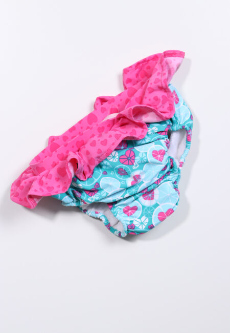 Turquoize-roze zwembroekje, Archimède, 62