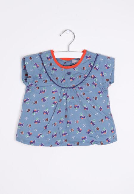 Blauw bloesje, Hilde & Co, 80
