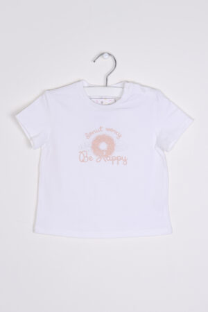 Wit t-shirtje, Gymp, 92