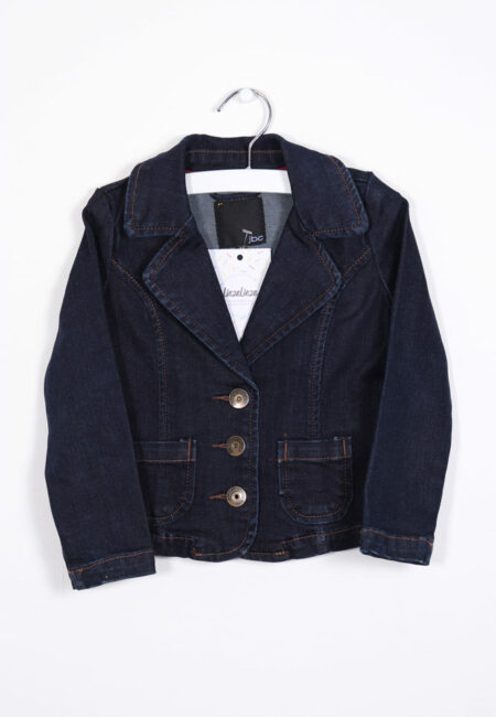 Donkerblauw jeansjasje, JBC,92