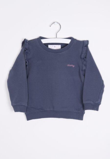 Blauwe sweater, Filou & Friends, 98