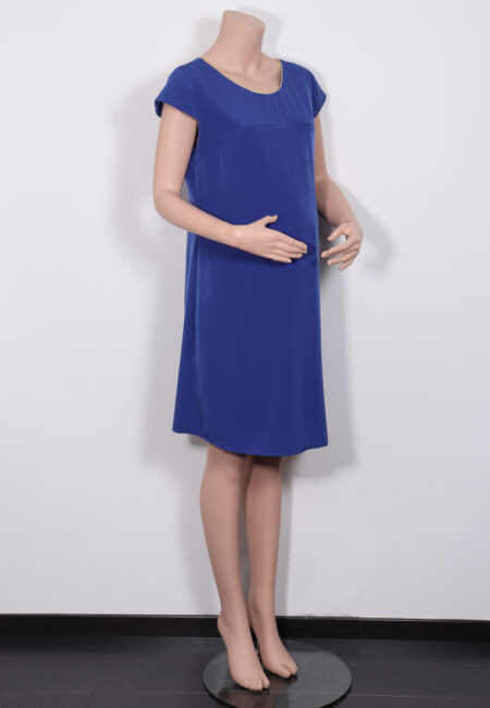 Hoogblauw kleedje, Pomkin, L