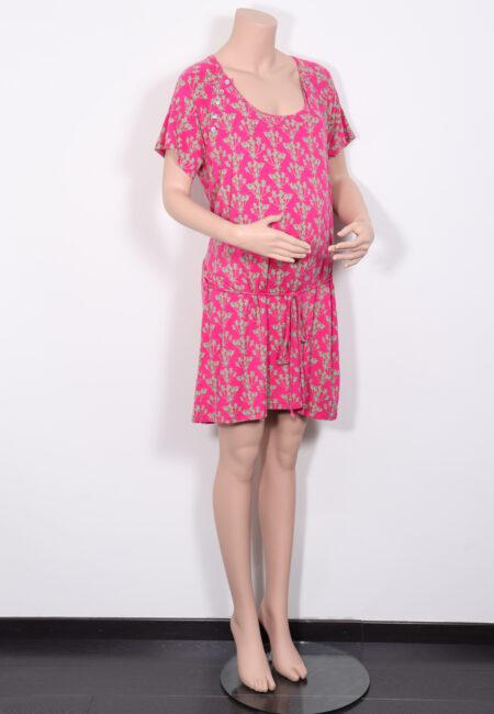 Roos-groen kleedje, Milker, L