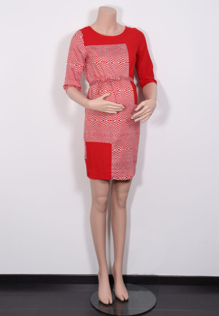 Rood-wit kleedje, Nathalie Vleeshouwer, S