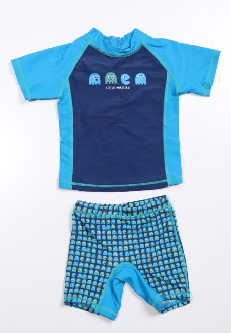 Blauw-groen zwempakje, JBC, 80