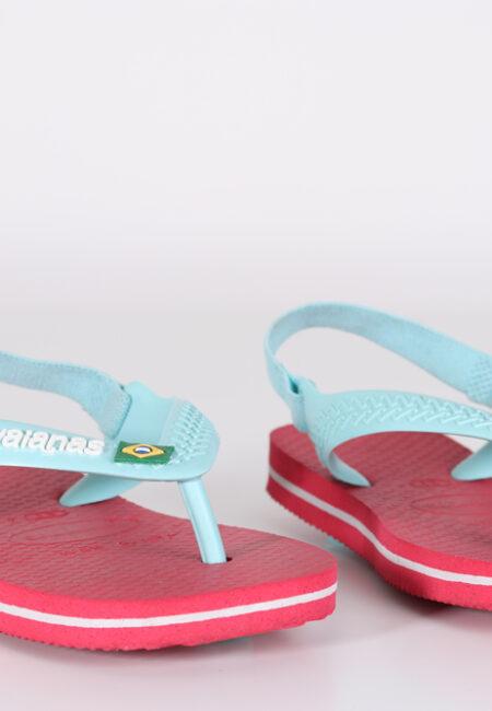 Roos-blauwe slippers, Havaianas, 21