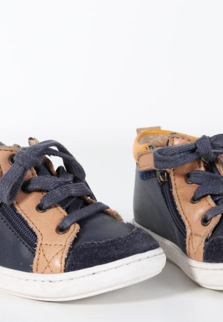 Blauw-bruin schoentje, Shoopom, 23
